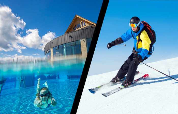 Thermal baths pools and ski in 1 day tatras area zakopane relax fun