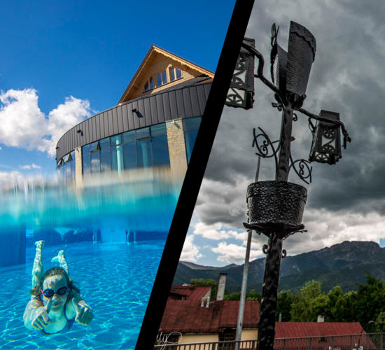 Zakopane and Thermal baths pools in 1 day tatras area relax