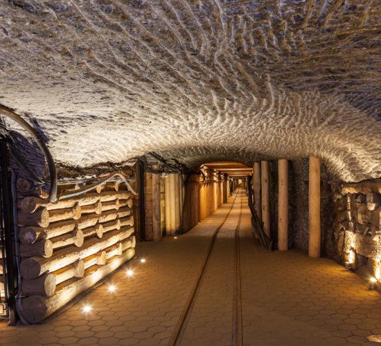 Wieliczka Salt Mine tours from Krakow underground tunnel