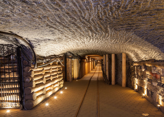 Wieliczka Salt Mine tours from Krakow underground tunnel
