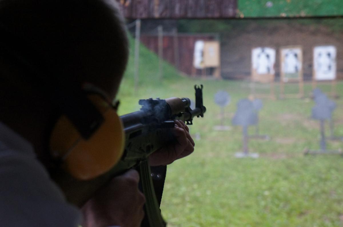 shooting krakow range transport AK47 packge