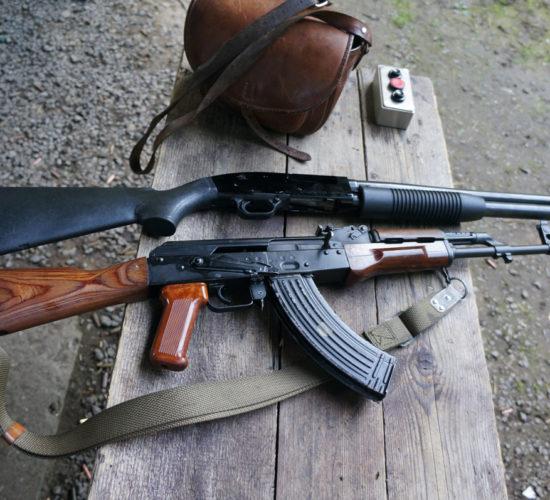 shooting Krakow range transport packge